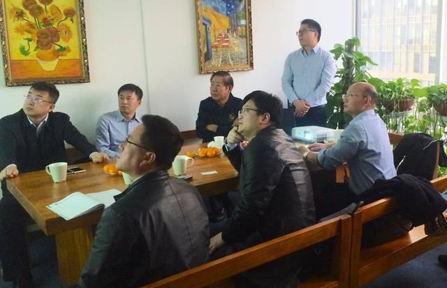中国小康建设研究会会长王巨禄莅临久友资本参观指导