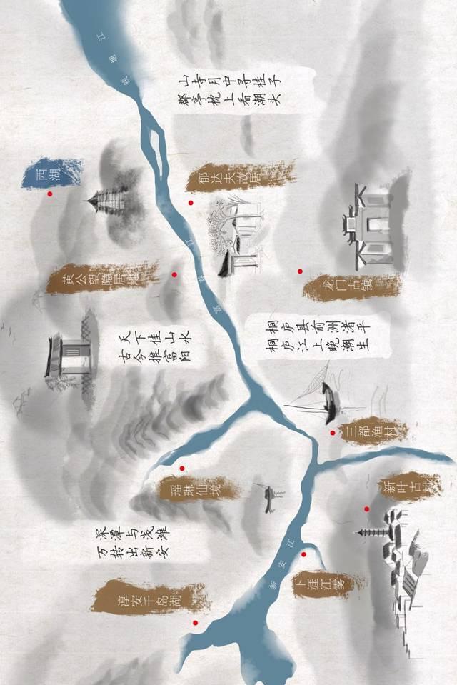 这么多诗句写得都是钱塘江!你觉得哪一句最美?