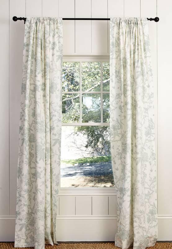 窗帘怎样挂更好看?五种常见的窗帘挂法!
