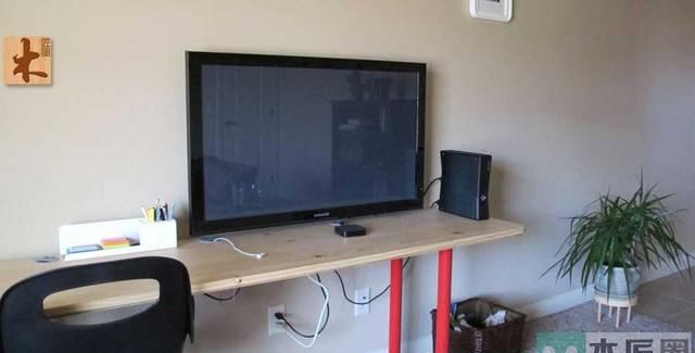 自制液晶电视挂架方法
