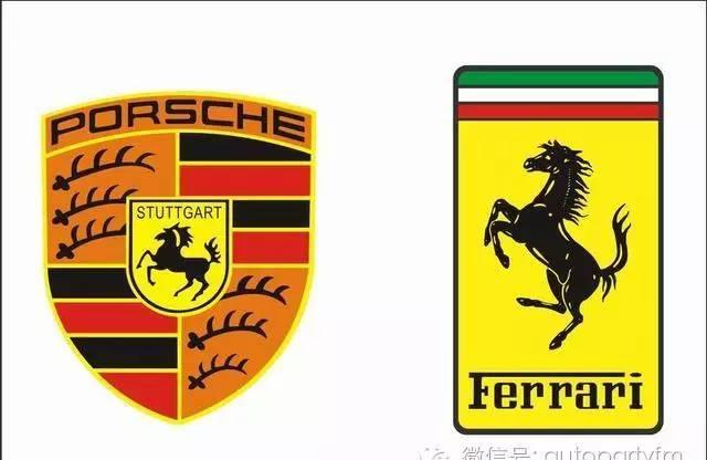 法拉利和保时捷的logo都是一匹马,各有什么含义?