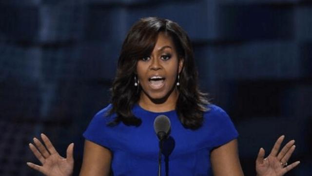 奥巴马的老婆,简直是这个世界上最会演讲的女人!