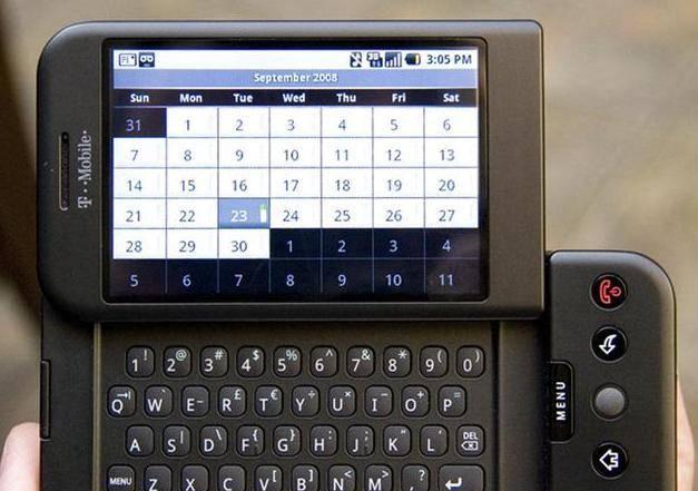 都以为HTC G1是世界第一部安卓手机?其实不是!