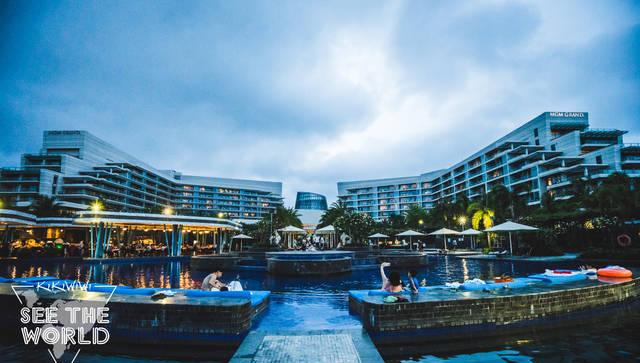 蓝色假期之三亚美高梅酒店