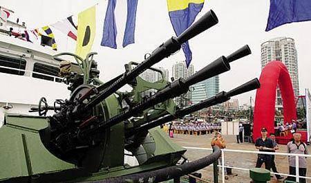 中国海警船换装AK630炮,难忘当年被炮击事件