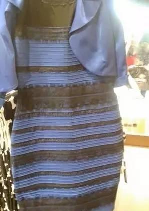 究竟是蓝黑裙子还是白金裙子,这张图再一次迷惑了双眼