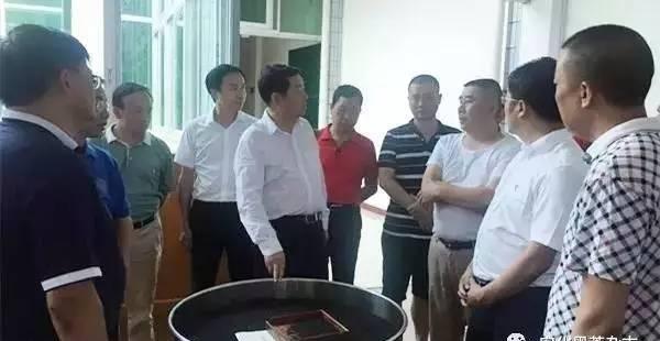 蒋作斌调研安化黑茶产业