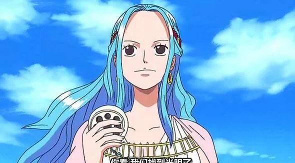 《海贼王》中的薇薇公主,在尾田的本来的构思中竟然是一个反派
