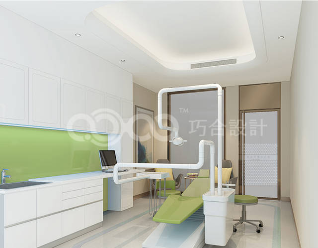 口腔医院装修设计需知(附设计效果图)
