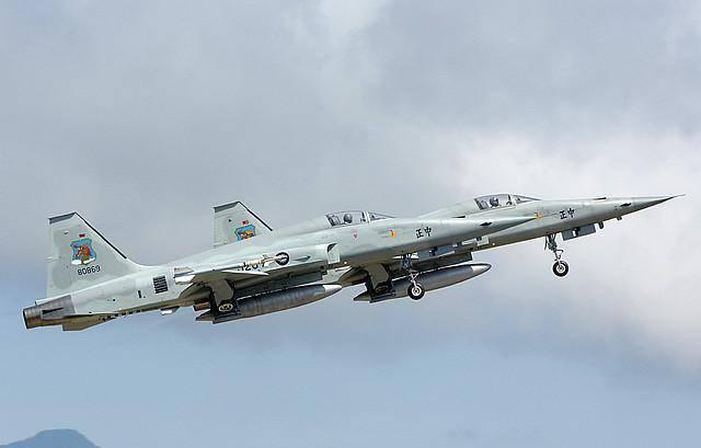 「原创」中国台湾省的F5战斗机