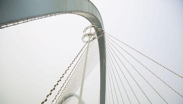 九皇山情人桥的由来 最危险的情人桥见证伟大的爱情