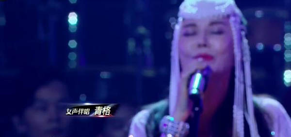 歌手2018腾格尔伴唱的青格是谁 被誉为蒙古歌唱家