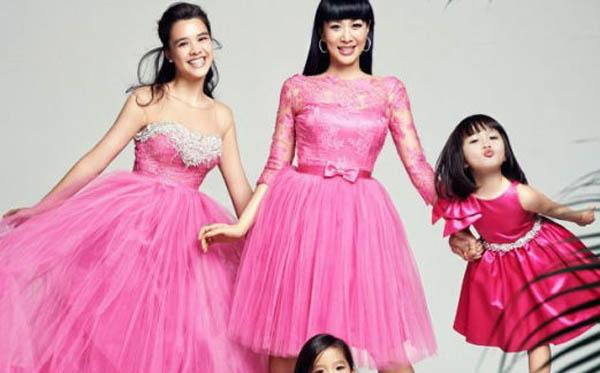 钟丽缇有几个孩子 三个女儿全都是她的贴心棉袄
