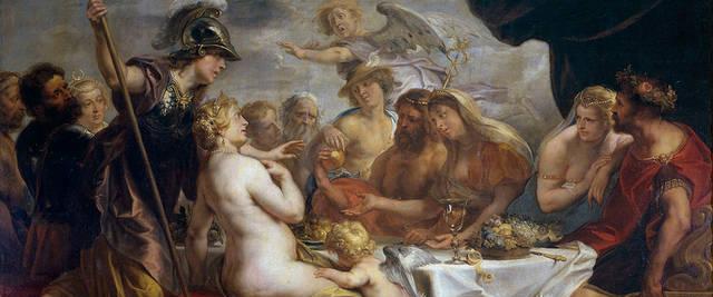 古希腊神话——海洋女神忒提斯