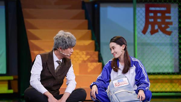 张若昀逆行人生搭档张小菲 演技获赞前面笑开花哭成狗