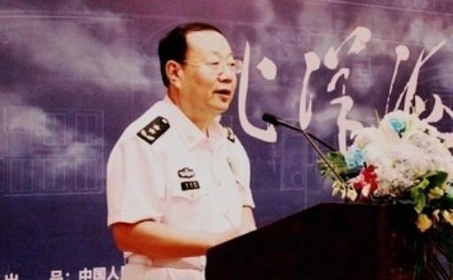 海军副政委马发祥11月13日病逝,12月1日在八宝山火化