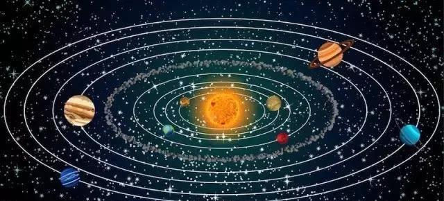原来这么多年我们都被晃点了~这才是正确比例的太阳系模型!