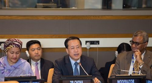 中国常驻联合国代表呼吁维护多边贸易体制,推动多哈回合谈判