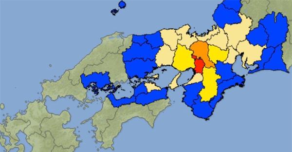 日本上调大阪地震至6.1级:已致3人丧生,40余人受伤
