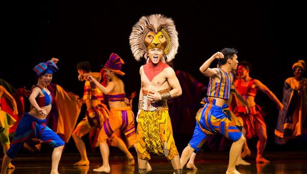 上海迪士尼音乐剧《狮子王》的日常