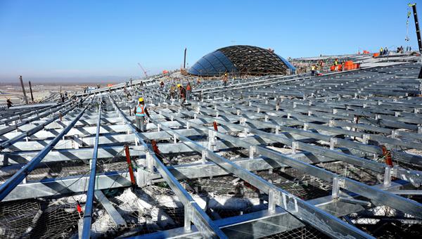 媒体聚焦北京新机场:大型国际枢纽机场,国家发展新动力源