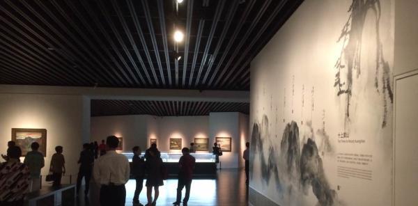 看刘海粟美术馆开馆大展,再读刘海粟狂狷背后的磅礴之气