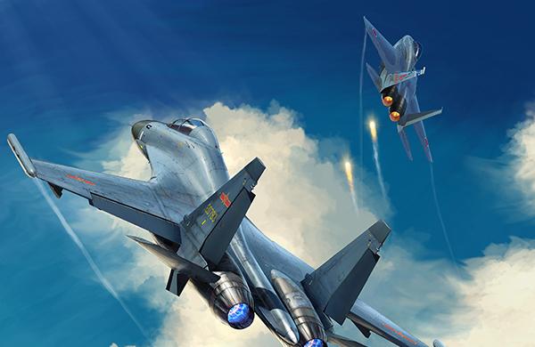 讲武谈兵丨苏-30MKK为何能让日本战机发射干扰弹?