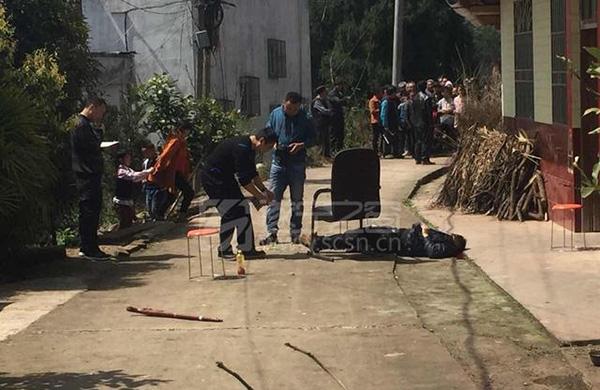 四川遂宁两男子喝酒起冲突:一人遭火枪爆头身亡,嫌犯被刑拘