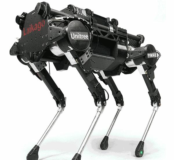 """90后上大毕业生造四足机器人:""""想比波士顿动力更进一步"""""""