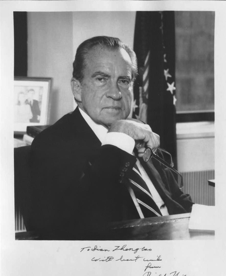 亲历尼克松访华