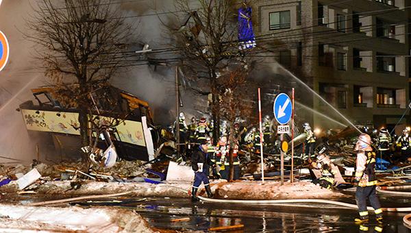 日本札幌餐厅爆炸事故伤者升至52人,系杀菌喷雾被引燃造成