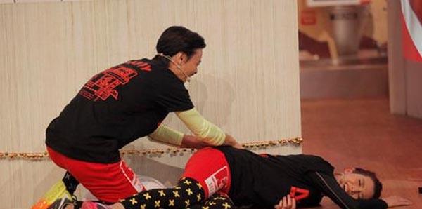 蔡少芬踹张晋那一脚做什么 不论怎样老公都要为她而战