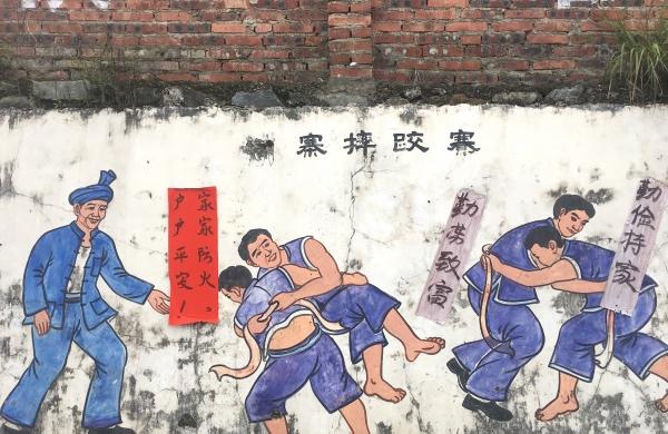 侗族摔跤,力量与技巧的角逐