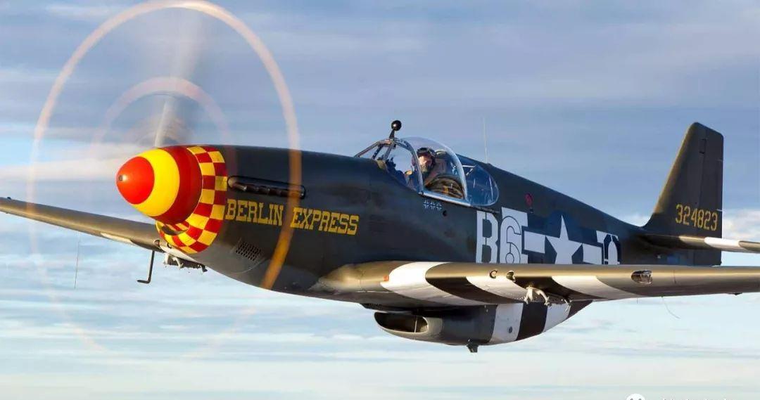 史上最强战机巡礼:P51野马战机凭什么成为二战歼...