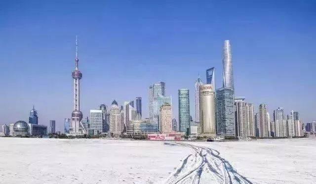 上海下雪啦!整整10年,我们终于又看到白雪皑皑的魔都