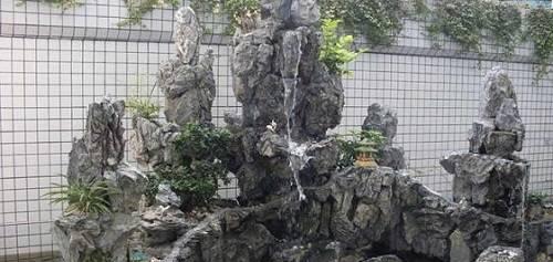 假山喷泉的作用你知道吗?