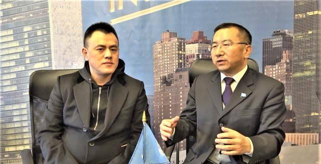杭州金夫人集团CEO邓松与赵云龙博士畅谈婚纱摄影未来