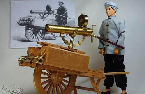世界最早的机枪是源自中国的清朝的连珠铳