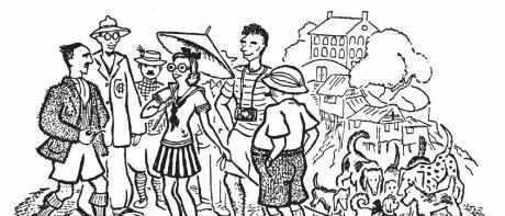1940年的重庆,与世隔绝的外国人们