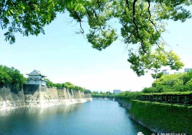 美爆了!日本大阪城公园