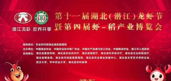 湖北潜江龙虾节开幕,援鄂医疗队员当选形象大使