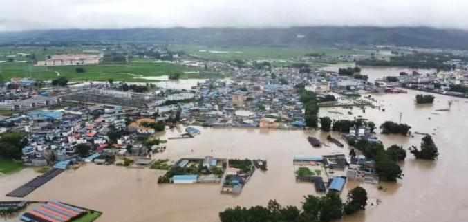 """盈江""""7·18""""强降雨致3人失联 损失超6000万 救灾正在进行"""