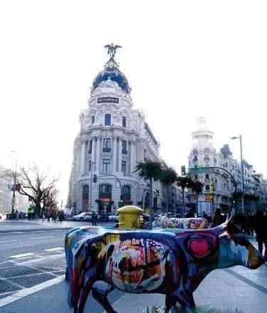 上海人在海外,东张西望马德里
