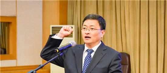 于海田任山东淄博市代市长,周连华已担任市委书记