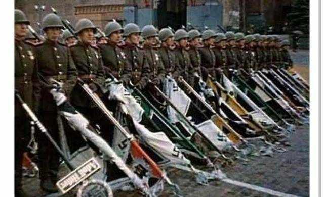二战时一共缴获多少日本军旗,答案令人吃惊