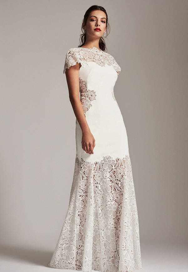 33款透视性感婚纱礼服 给你不一样的视觉体验