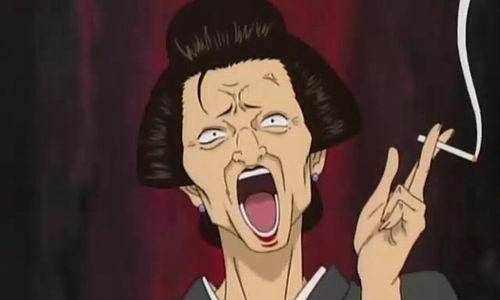大跌眼镜!原来《银魂》里的欧巴桑登势婆婆藏的这么深!