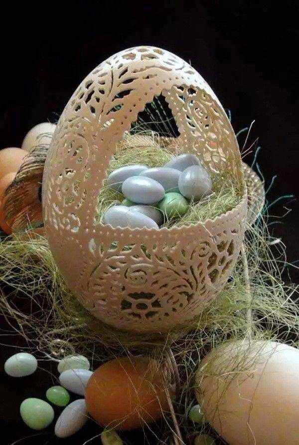 【绝美】蛋雕