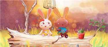 两只小兔子 两只小兔子童话故事