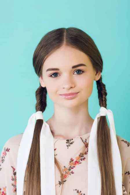 教扎女童漂亮头发图片 小女孩短发怎么扎简单好看 六款简单扎发推荐给宝妈们